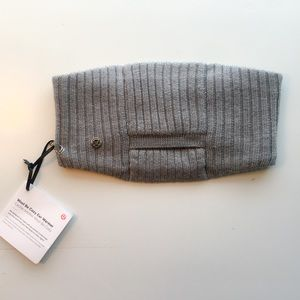 Lululemon Wool Be Warm Ear Warmer NWT